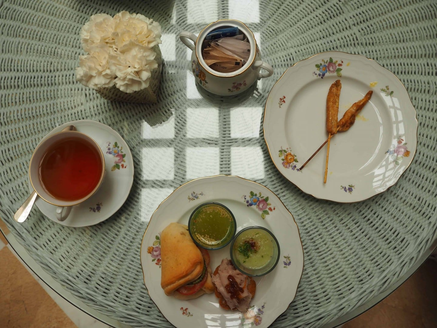 afternoon tea imperial delhi review