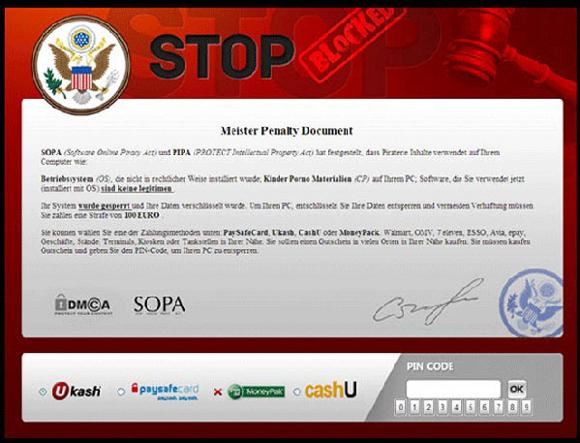 Stop Blocked Virus