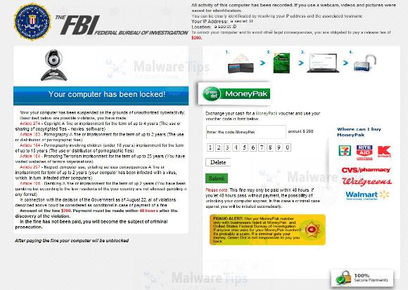 The FBI Federal Bureau of Investigation Virus