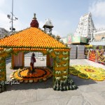 Ugadi Flower Decorations at Tirumala Srivari Temple