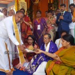 SUPREME COURT JUSTICE NV RAMANA VISIT TO SRIVARI TEMPLE