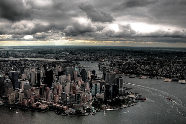 cloudy new york