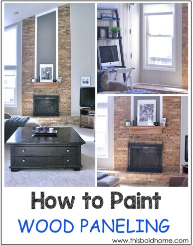 HOWTOPAINTWOODPANELING