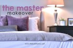 The master bedroom makeover