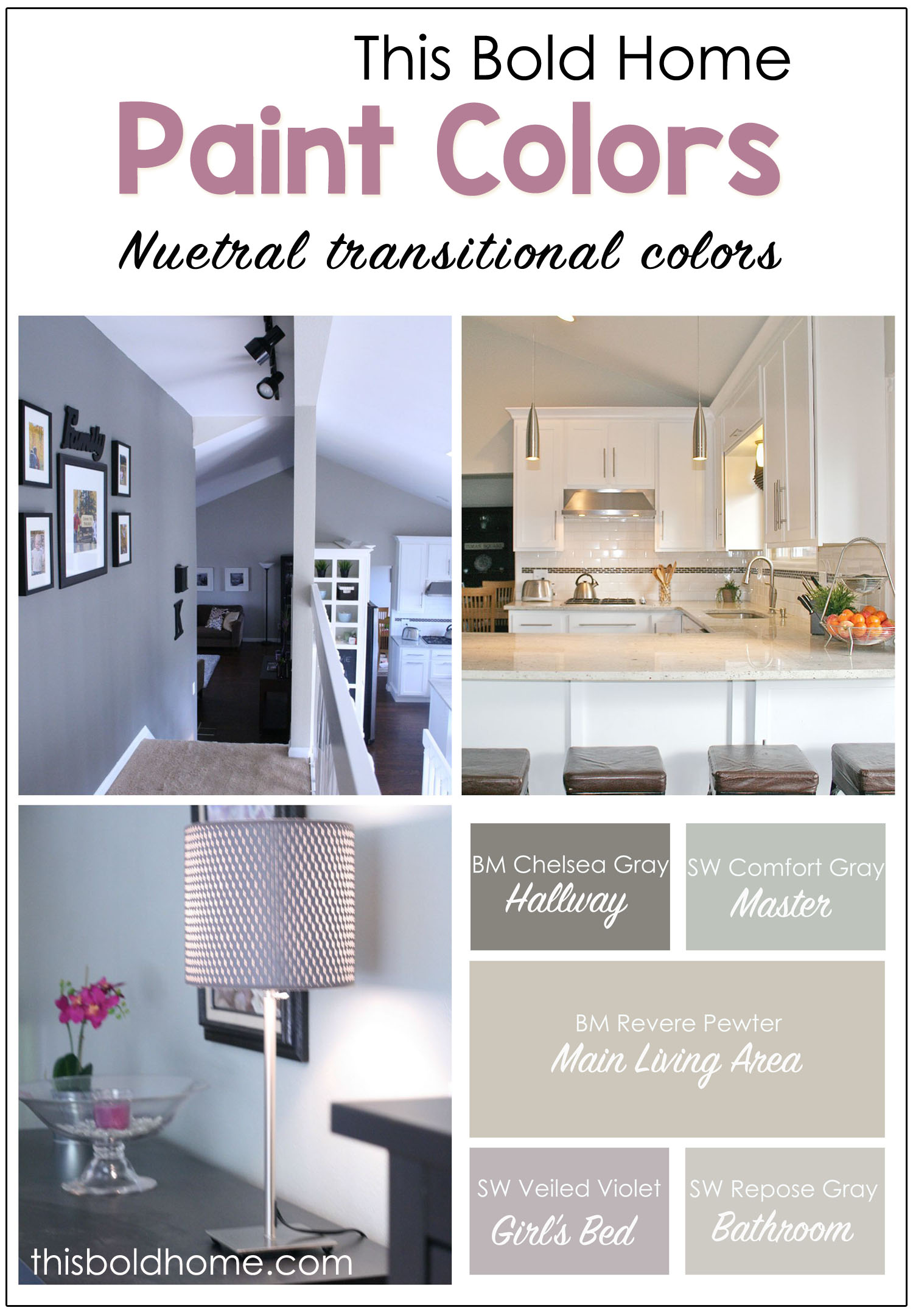 Revere pewter coordinating paint colors this bold home Bold house colors