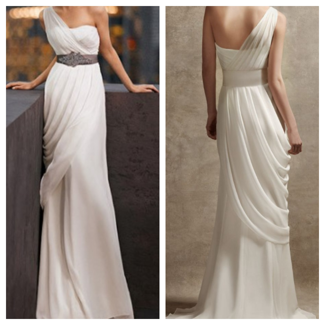 wedding greek goddess wedding dress verawangbridal Vera Wang Greek Goddess