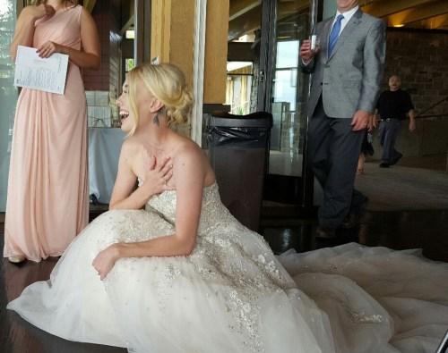 kristin wedding hand over heart