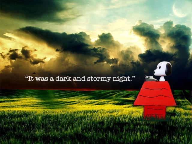 snoopy-darkandstormynight