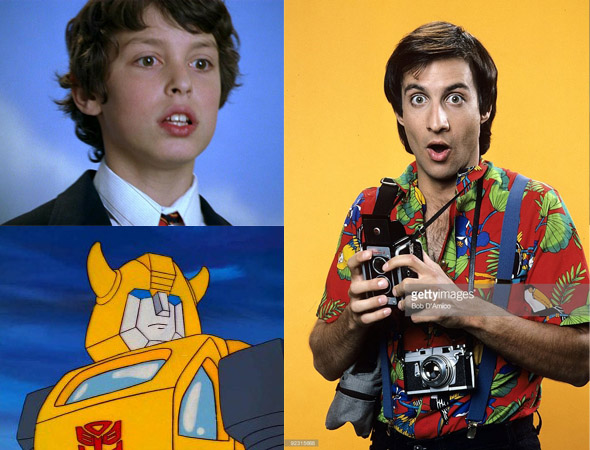 Sam Weir, Bumblebee, and Balki Bartokomous