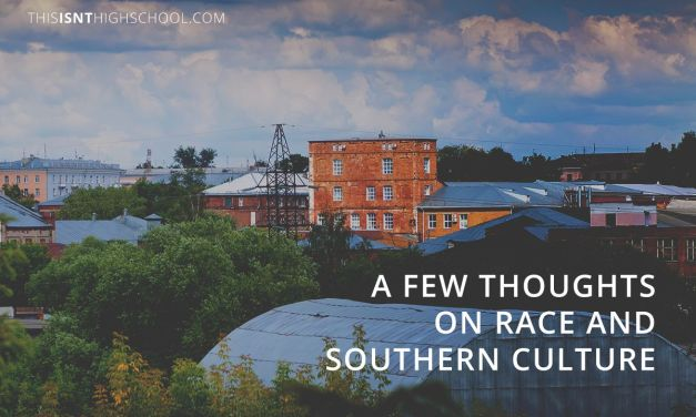A few thoughts on race and southern culture