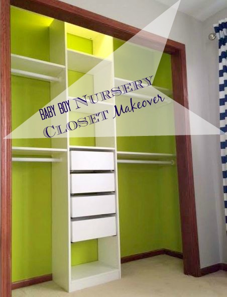 Nursery Closet Makeover    And the {paint} winner is...