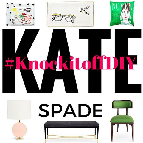 Knock it off DIY | Kate spade knock off | Monthly Blogger challenge