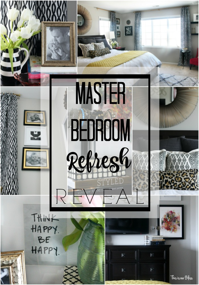 New Year, New Room Refresh Challenge | Master Bedroom: The Reveal Part II