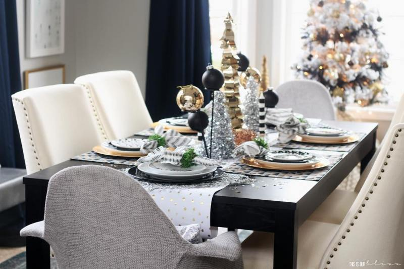 Hellooo Friday!! My FINAL Christmas Home Tour is live today!hellip