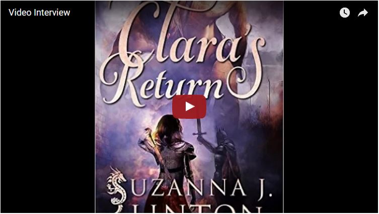 Suzanna J. Linton and Clara's Return Stories of Lorst Book 2 Author Interviews