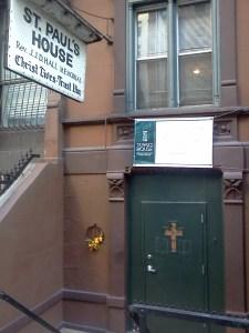 St Pauls sign