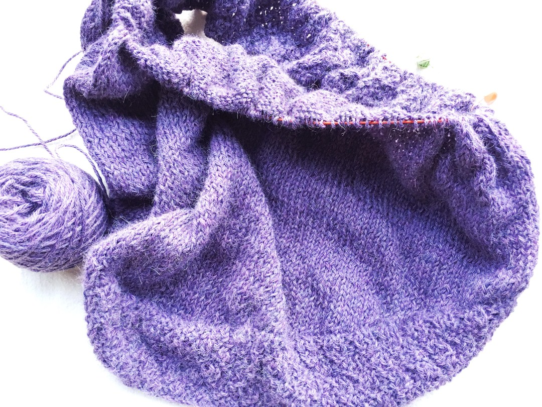 Mistakes that can occur while knitting short rows.
