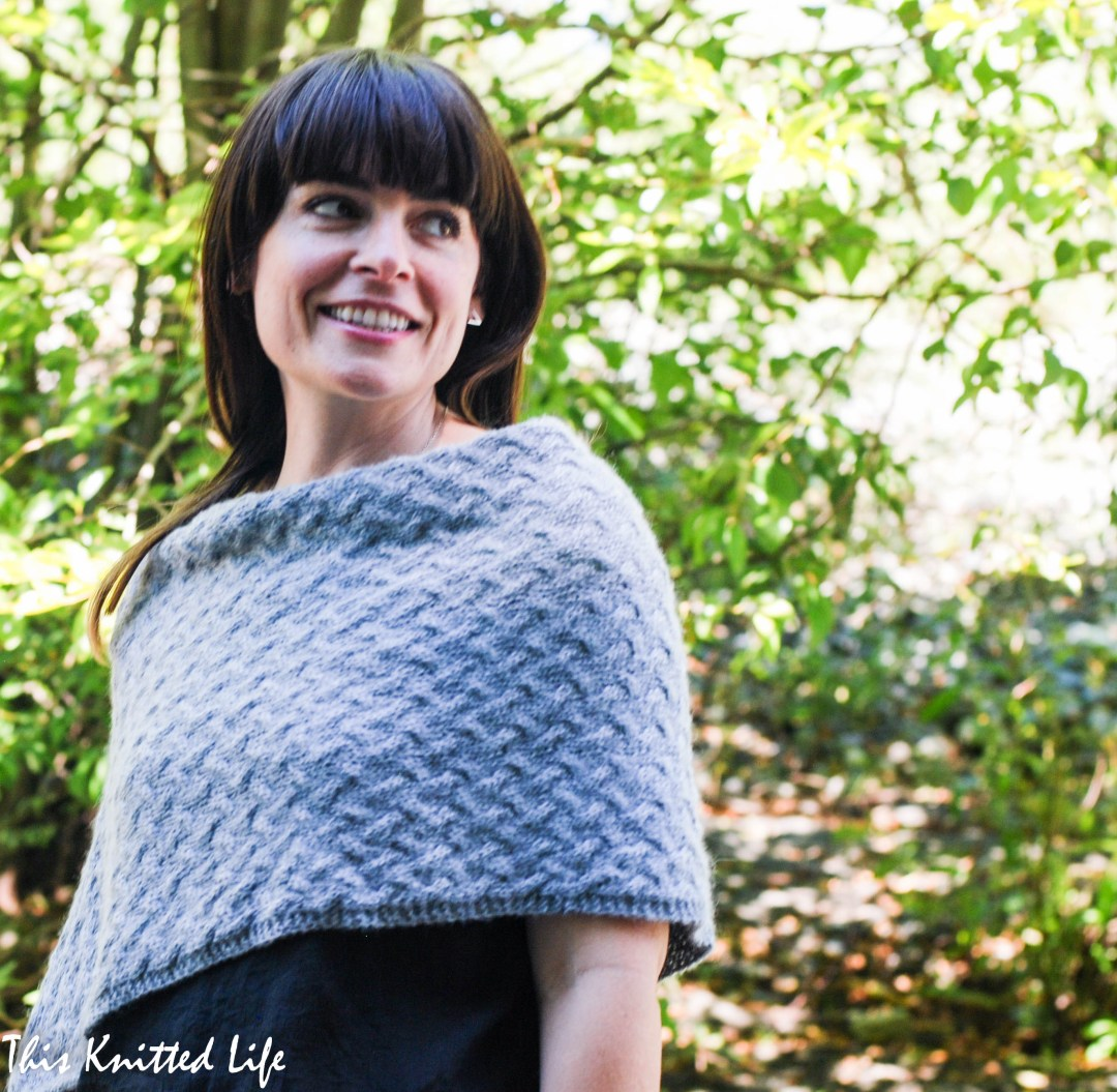 Stoneland Poncho by Andrea @ This Knitted Life