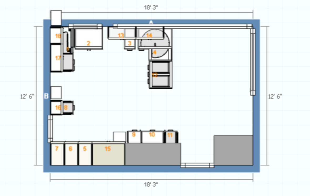 Kitchen Plan B