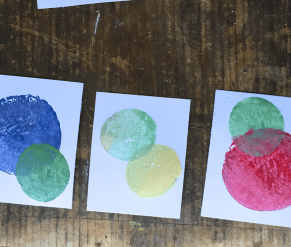 kids-craft-vegetable-printing