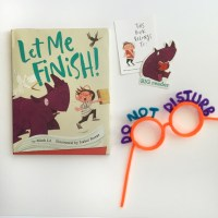 let me finish! + reading glasses craft + giveaway