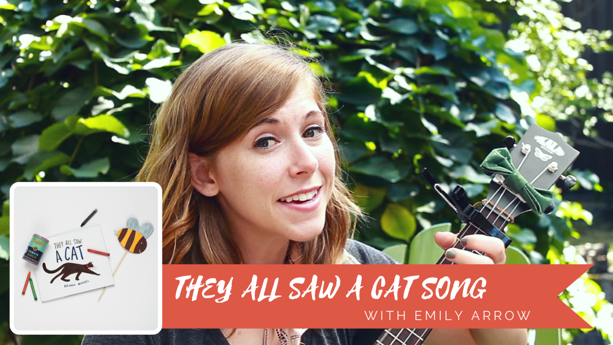 they all saw a cat + emily arrow's they all saw a cat song + giveaway!