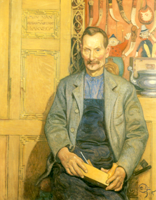 Carpenter Hans Arnbom, 1915