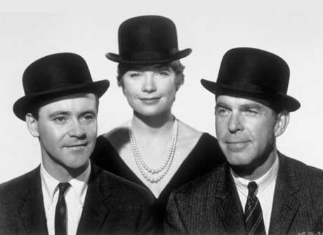 Lemmon-MacLaine-and-MacMurray-in-The-Apartment-1960