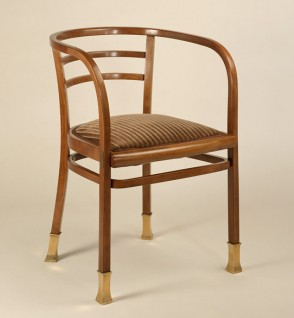 Otto Wagner, Armchair, Thonet model #6516