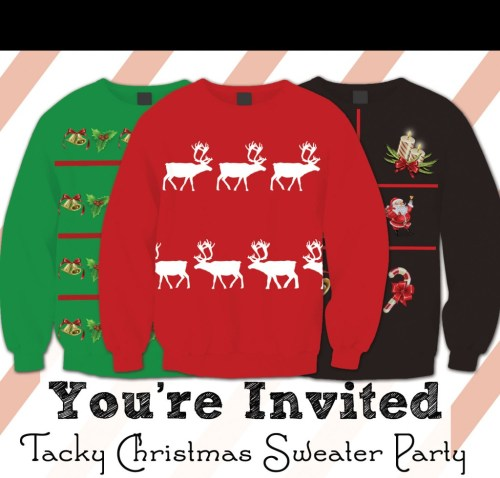 Medium Of Ugly Sweater Party