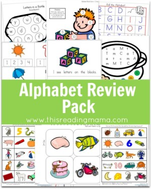Alphabet Review Pack - This Reading Mama