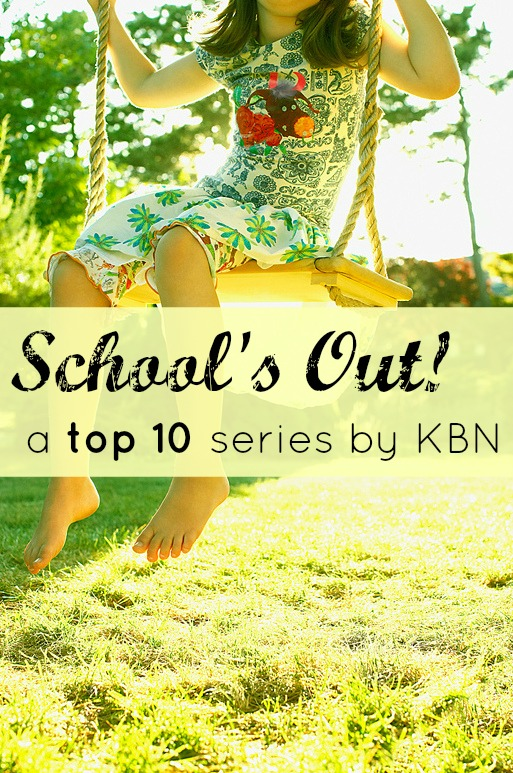 School's Out: A Top 10 Series by Kid Blogger Network | This Reading Mama