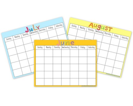 FREE Summer Reading Calendars | This Reading Mama