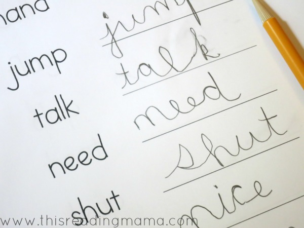 cursive writing pages Print these large cursive handwriting pages, then tape them together to make an alphabet letters banner you may also like.