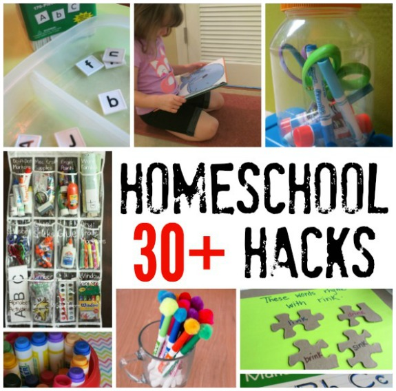 Homeschool Hacks  - This Reading Mama