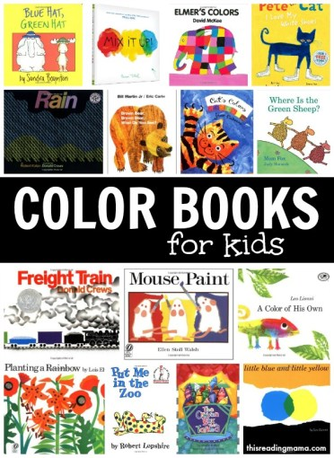 15 Fantastic Color Books for Kids ~ This Reading Mama