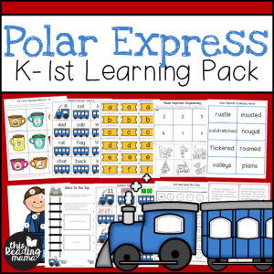 300 Polar Express K-1 Learning Pack - This Reading Mama