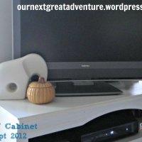 Pinterest Challenge: New TV Stand