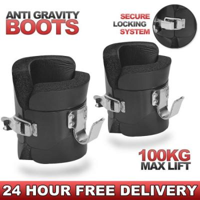 HTH Gravity Inversion Boots Heavy Duty Abs Back Stomach Core Exerciser Fitness | eBay