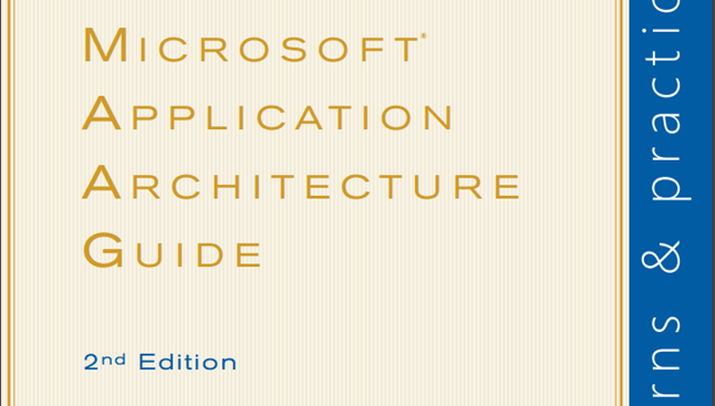 Cover of 'Application Architecture Guide' v2