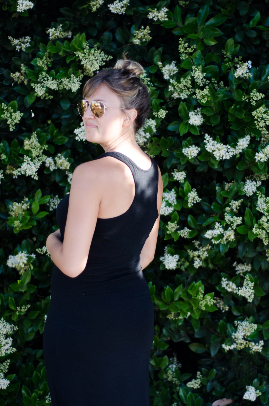 BUMP STYLE :: Black Maxi | Thoughts By Natalie