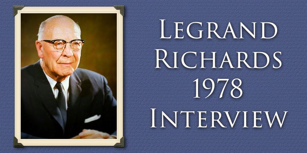 The Legrand Richards Interview