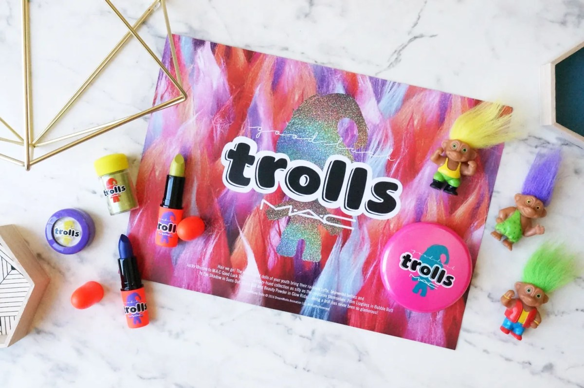 MAC Good Luck Trolls Limited Edition Collection