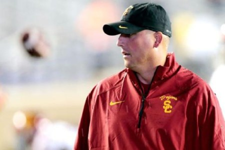 USC Trojans Football Coach Steve Sarkisian Takes Leave Of Absence
