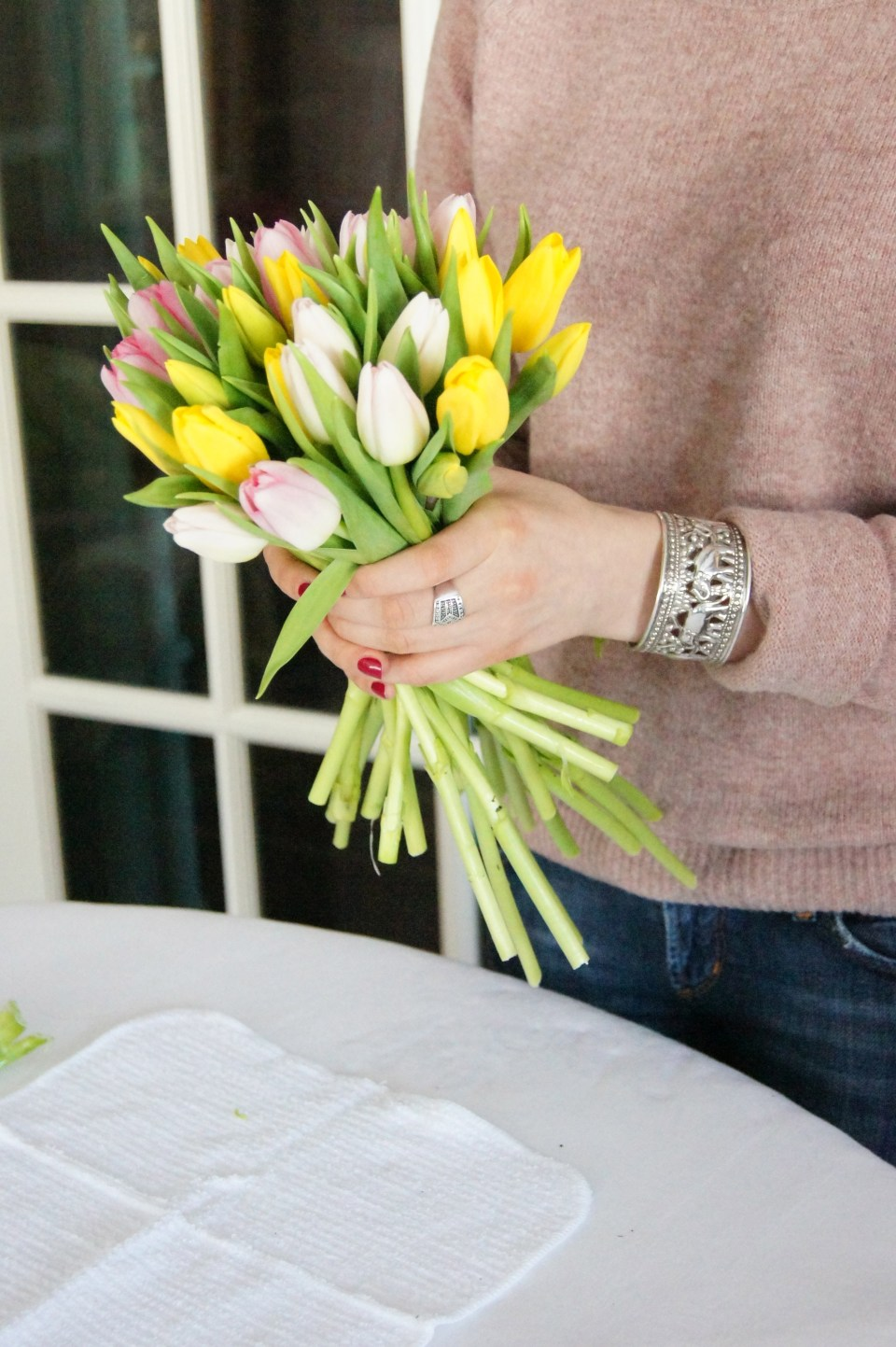 How to Make a Tulip Arrangement