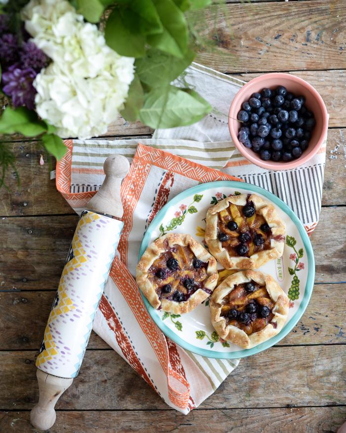 Peach Galette Recipe with Homemade Pie Crust