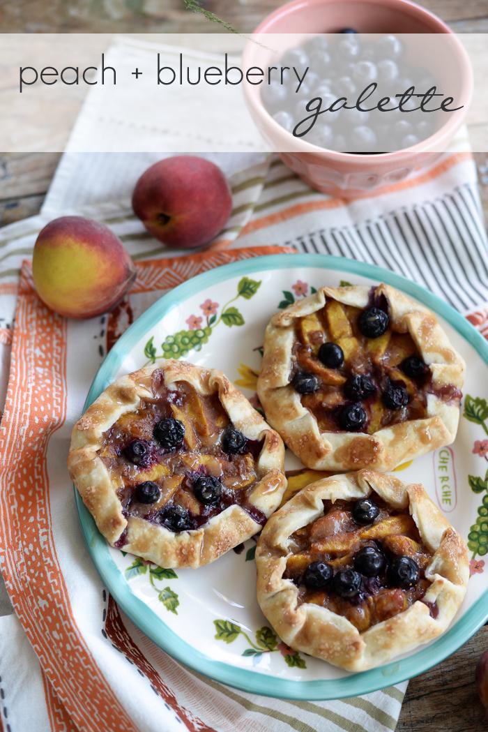 Delicious Peach Galette Recipe with Homemade Pie Crust