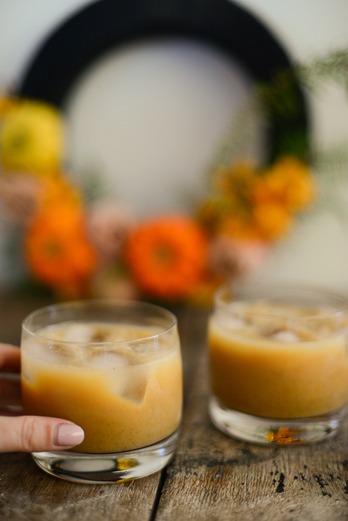 Great Thanksgiving Drinks - Pumpkin Spice Latte Cocktail Recipe