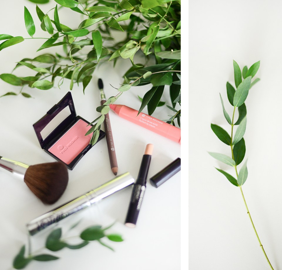 Yves Rocher Simple Makeup Routine - No makeup makeup