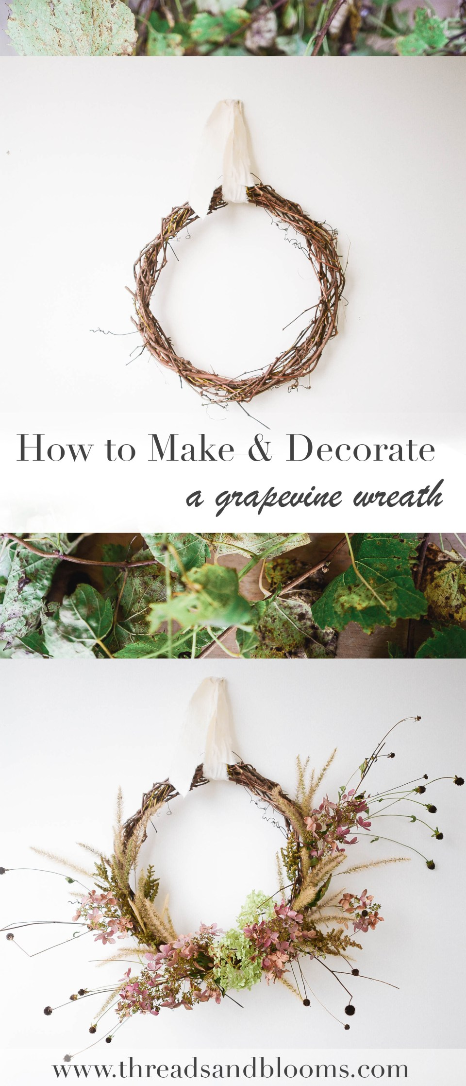 How to Make a Wreath - Fall DIY